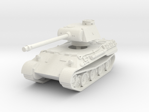 Panther D 1/76 in White Natural Versatile Plastic