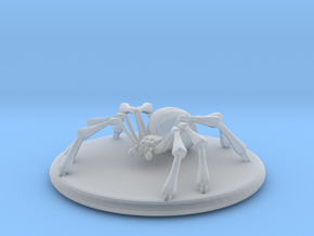 Small Spider in Smoothest Fine Detail Plastic