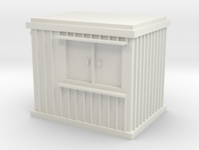 10 ft Office Container 1/43 in White Natural Versatile Plastic
