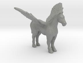 Pegasus 1/60 DnD miniature fantasy games and rpg in Gray PA12
