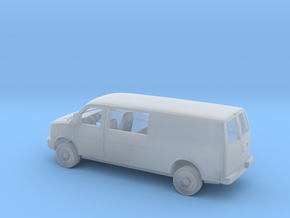 1/160 2003-Pre. Chevy Express Ext. Semi  Sliding D in Smooth Fine Detail Plastic