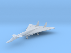 XB-70 w/Gear (CW) in Smooth Fine Detail Plastic: 1:700