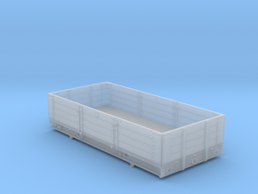 4mm - GWR 10 Ton 4 Plank Open in Smooth Fine Detail Plastic