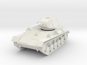 PV198A T-70 Light Tank (28mm) in White Natural Versatile Plastic