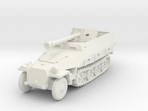 Sdkfz 251/22 D Pak40 1/100 in White Natural Versatile Plastic
