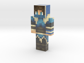 DemonloupYT | Minecraft toy in Glossy Full Color Sandstone
