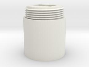 ProfBigMag in White Natural Versatile Plastic