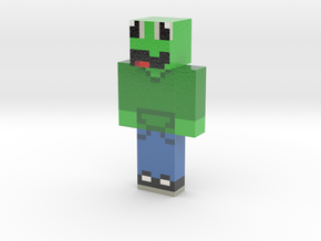 Skin_Output1587158774234 | Minecraft toy in Glossy Full Color Sandstone