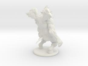D&D Nalfeshnee miniature for 3d print in White Natural Versatile Plastic