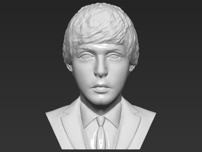 Paul McCartney bust in White Natural Versatile Plastic
