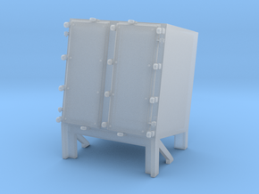 1/64 Ammo Locker for Hedgehog Thrower in Smooth Fine Detail Plastic