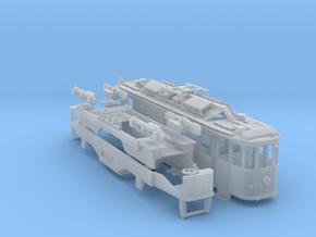 SVB Xe 4/4 503 Schweisswagen in Smooth Fine Detail Plastic