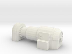 Power Generator 1/100 in White Natural Versatile Plastic