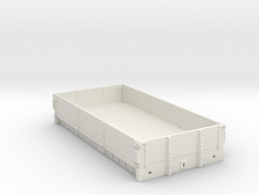 7mm - MR D305 - 3 Plank Open - WSF in White Natural Versatile Plastic