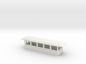 Gehäuse Beiwagen Neu in White Natural Versatile Plastic