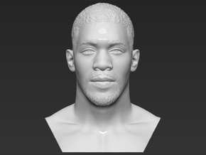 Anthony Joshua bust in White Natural Versatile Plastic