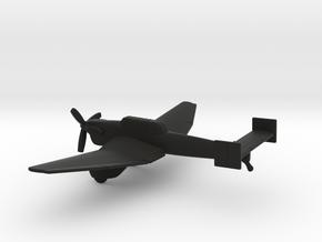 Junkers Ju-87 V-1 Stuka in Black Natural Versatile Plastic: 1:200
