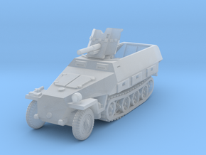 Sdkfz 251/10 D Pak 36 1/144 in Smooth Fine Detail Plastic