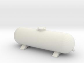 LPG Gas Tank 1/24 in White Natural Versatile Plastic