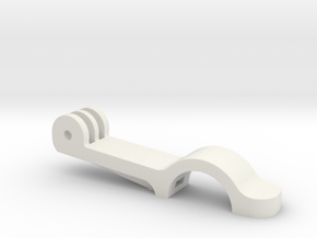 Remote Cage Bracket 22mm (part 1 of 2) in White Natural Versatile Plastic