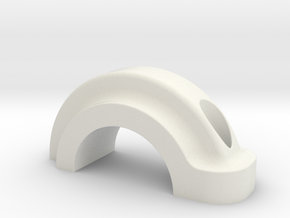 Closing Part (part 2 of 2) in White Natural Versatile Plastic