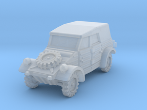 Kubelwagen (covered) 1/144 in Smooth Fine Detail Plastic