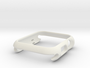 Apple Watch S1 38mm in White Natural Versatile Plastic
