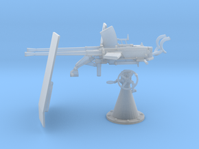 1/40 DKM Double 20mm C/30 Flak KIT in Smooth Fine Detail Plastic