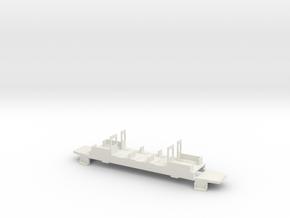 HSB 153 Fahrwerk in White Natural Versatile Plastic