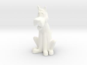 The Jetsons_Astro in White Processed Versatile Plastic