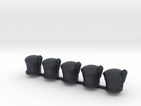 5 x Scots Hat in Black PA12