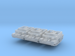 Universal Carrier MkIII (x3) 1/200 in Smooth Fine Detail Plastic