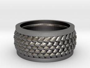 Dragon flakes  in Polished Nickel Steel: 8.5 / 58