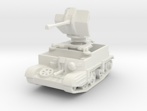 Universal Carrier Flak 38 1/120 in White Natural Versatile Plastic