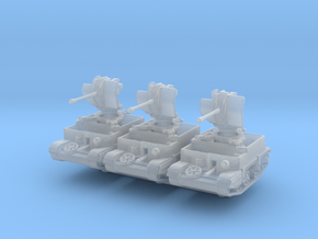 Universal Carrier Flak 38 (x3) 1/285 in Smooth Fine Detail Plastic