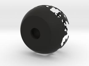 Candle holder in Black Natural Versatile Plastic