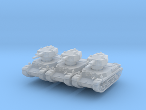 Turan II (x3) 1/285 in Smooth Fine Detail Plastic