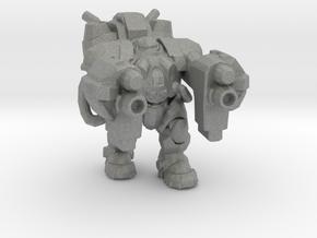 Starcraft Terran Marauder Armored miniature small in Gray PA12