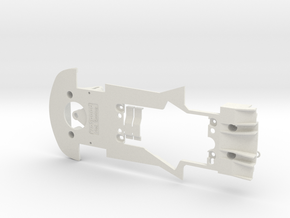 PSCA02201 chassis for Carrera Porsche 911 RSR GT3 in White Natural Versatile Plastic