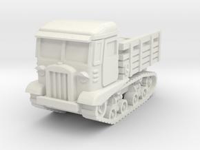 STZ-5 tractor 1/56 in White Natural Versatile Plastic