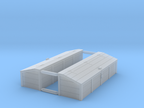 S Scale Tool Chest (2) in Smooth Fine Detail Plastic