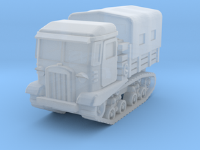 STZ-5 tractor (covered) 1/220 in Smooth Fine Detail Plastic