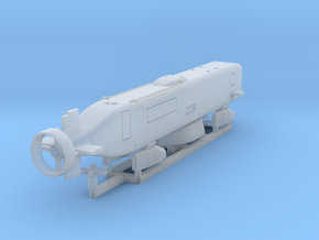 Advanced SEAL Delivery System, 1/350 scale in Smooth Fine Detail Plastic