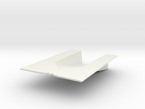 1/72 Cyclone Hull Ramp in White Natural Versatile Plastic