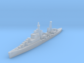 Dido class cruiser 1/1800 in Smooth Fine Detail Plastic