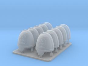 Cyber Samurai Bonsai Clan V10 Primus Rimmed Should in Smooth Fine Detail Plastic