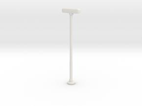 Double Street Lamp 1/56 in White Natural Versatile Plastic