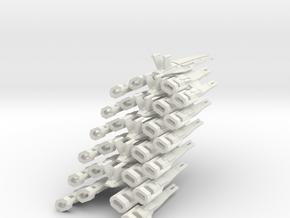 Nomad-D II Wing (6) in White Natural Versatile Plastic