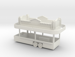 Food Concession - Version 2 in White Natural Versatile Plastic