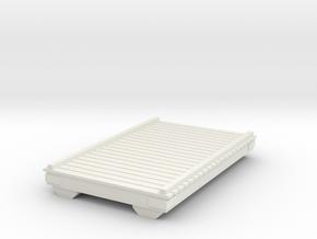 Wooden Pier Deck 1/35 in White Natural Versatile Plastic